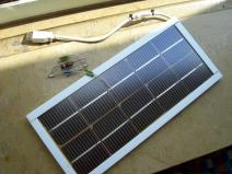Selbstbau Solarmodul