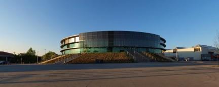 EWE Arena: früher Abend