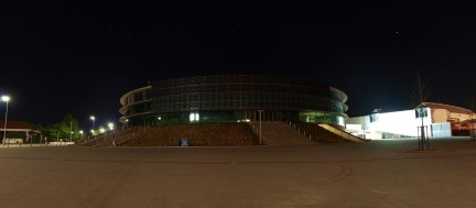 EWE Arena: nachts
