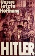 Plakat zur Reichspräsidentenwahl, 1932