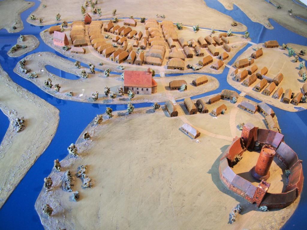 Modell Oldenburg um 1350