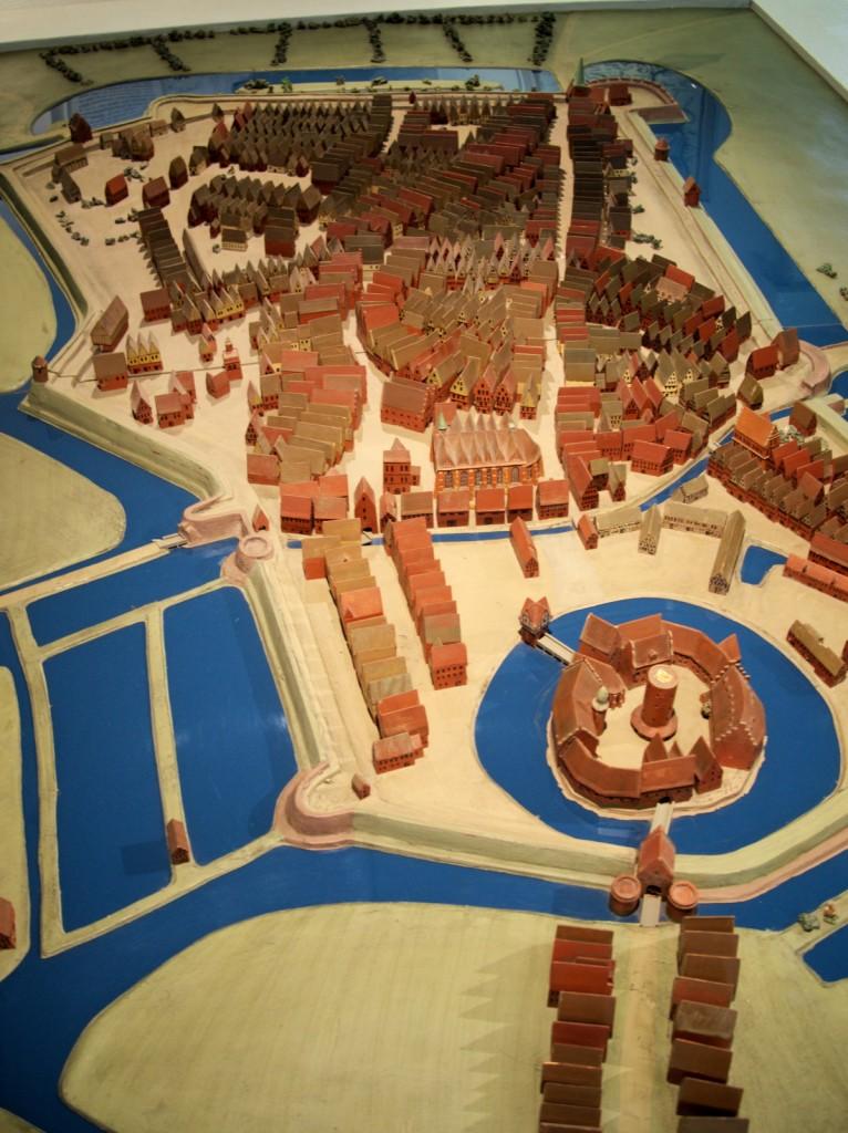 Modell Oldenburg um 1550