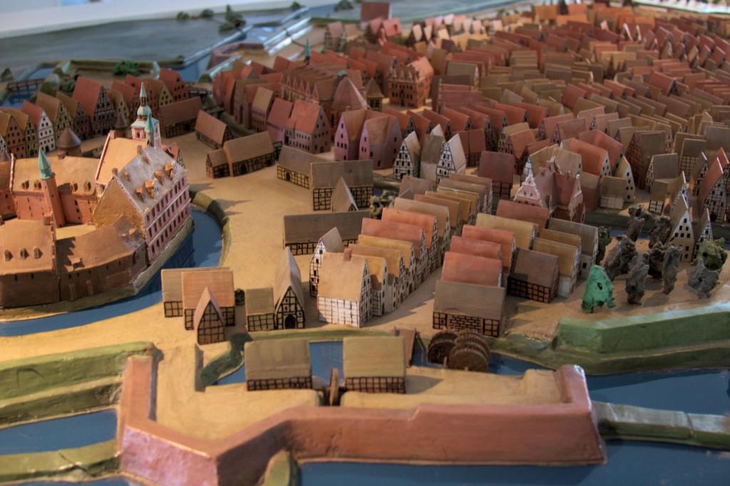 Modell Oldenburg um 1650