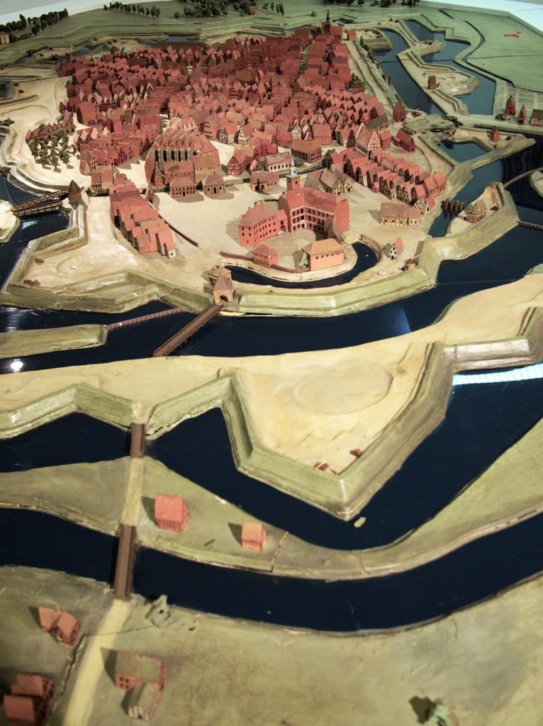 Modell Oldenburg um 1750