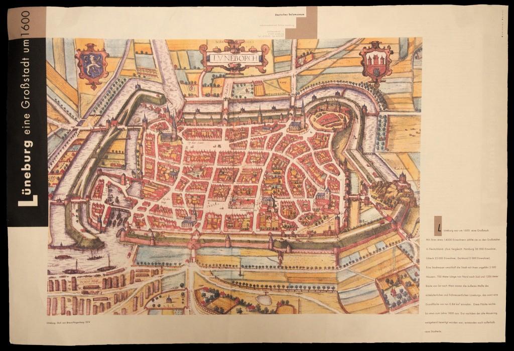 Lüneburg, eine Großstadt um 1600